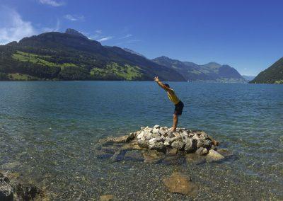 Founder at the Lake Panorama