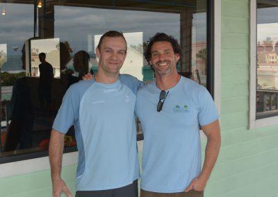 Dr. Eric Goodman and me