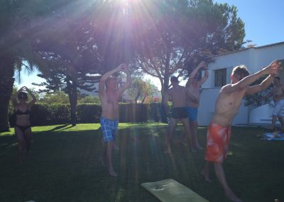 Group Training in the Sun 4